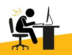 Une mauvaise posture peut avoir de graves conséquences physiques